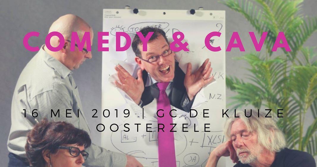COMEDY & CAVA | GC De Kluize